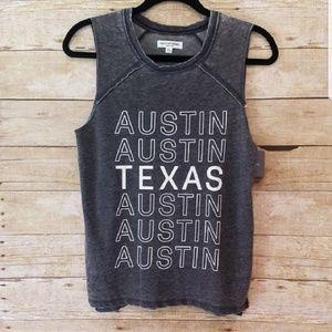 Gryason/Threads Austin Texas Graphic Tank Top